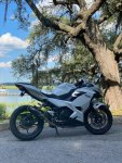 My 2020 Ninja 400 in White